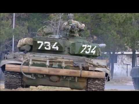 Macedonian Army Tank T-72A - Т-72А АРМ