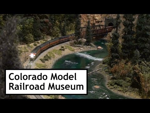 Colorado Model Railroad Museum – Sycan Jct to Nasty Flats (Model Railroad Layout)