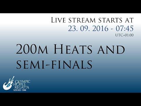 200M HEATS AND  SEMI-FINALS