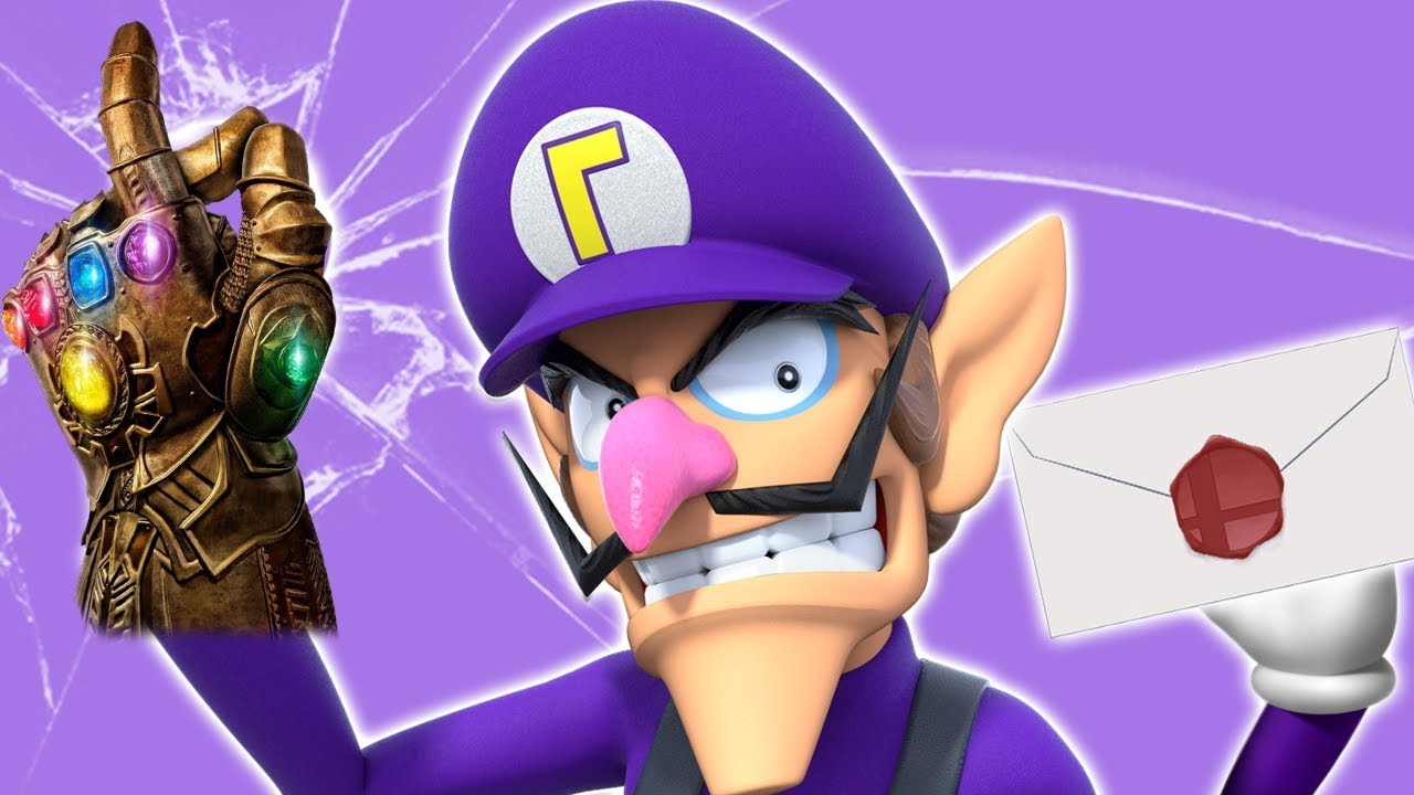 Waluigi Is Inevitable! - Super Smash Bros Ultimate DLC/Fighter Pass! Nintendo Direct! thumbnail