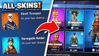 *ALL* Fortnite OG Skins Returning! | Renegade Raider, Ghoul Trooper! ( Leaks )