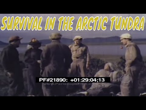 SURVIVAL IN THE ARCTIC TUNDRA - C-119 Flying Boxcar 21890