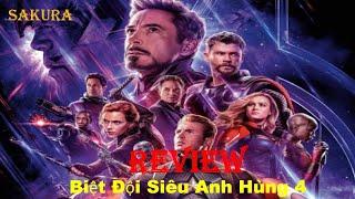 Download REVIEW PHIM BIỆT ĐỘI SIÊU ANH HÙNG 4 || AVENGERS: ENDGAME || SAKURA REVIEW
