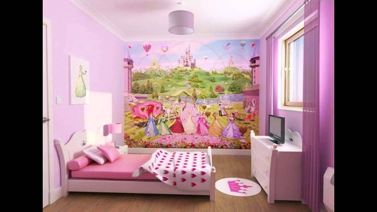 Ideas For Little Girls Bedrooms Beautiful Little Girl Bedroom Decorating Ideas  Youtube