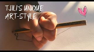 TJILI'S UNIQUE ART STYLE