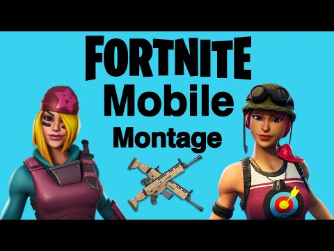 Fortnite Mobile Montage [Iphone6s Plus]