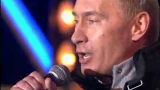 Медведев и Путин танцуют калинку(На главной площади России главные лица страны отжигают., 2011-07-14T14:12:41.000Z)