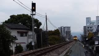 2018/11/18 普通列車(キハ125)走行@日田~光岡間