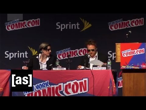 NYCC 2011 Panel - FULL (with Doc Hammer and Jackson Publick) | The Venture Bros. | Adult Swim