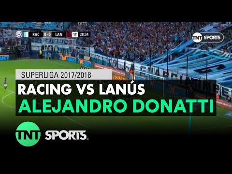 Alejandro Donatti (1-0) Racing vs Lanús   Fecha 16 - Superliga Argentina 2017/2018