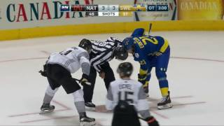 Sweden vs. North America Full 3-on-3 Overtime - World Cup Of Hockey