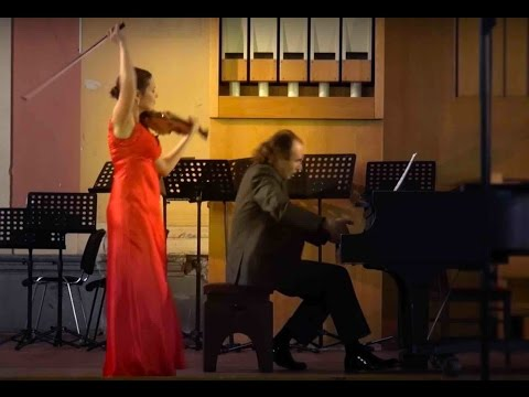 """Gershwin – Frolov. Concert fantasy on themes from """"Porgy and Bess"""". Maria Shalgina, Oleg Weinstein"""