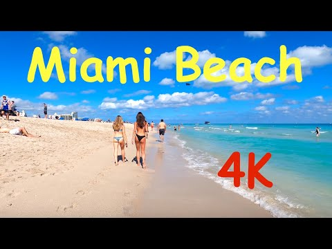 4K. Miami Beach 25 January 2020