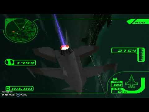 Ace Combat 3 USA Playthrough Mission 6 Target Acquisition