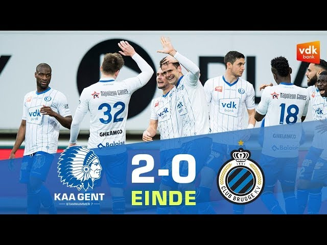 🎬 KAA GENT - Club Brugge (2-0)