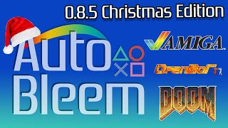 AutoBleem 0.8.5 Christmas Release! OpenBor, Amiga and DOOM on Playstation Classic! 🎮