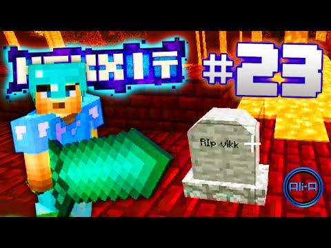 """Minecraft Mods - Hexxit Ep 23 - """"DEATHS EVERYWHERE!"""" - w/ Ali-A & Vikk"""