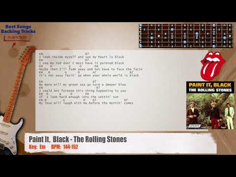7.9 MB) Paint It Black Chords - Free Download MP3