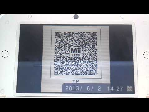 トモダチコレクション3DS Miiいろいろ作ってみた【QRコード】
