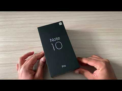 Mi Note 10 Pro Unboxing & Review First Look (Xiaomi)