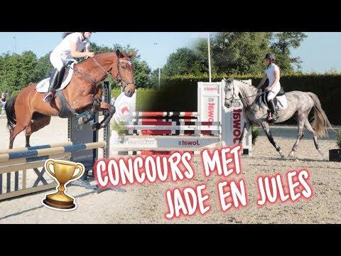 Vlog#8 Concours met Jade & Jules | steigeren & weigeren?