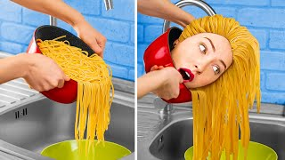 If Food Were People / 16 Funny Situations!