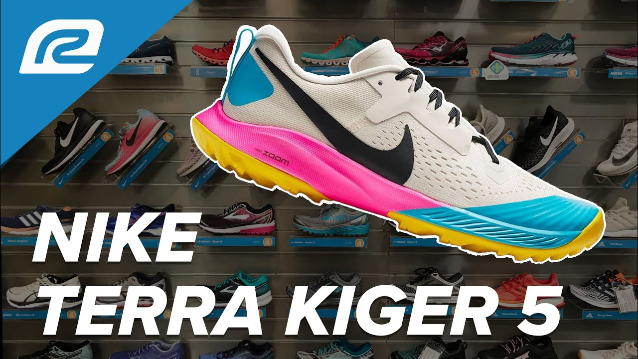 superávit recepción postura  Nike Air Zoom Terra Kiger 5 - First Look with RRS Fit Expert! | Shoe Review  - YouTube