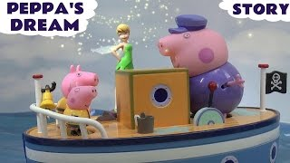 Peppa Pig Story Disney Fairy Tinker Bell Magic Flying Jake And The Neverland Pirates Dream Pirate