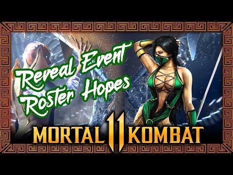 Mortal Kombat 11: Reveal Event Roster Hopes thumbnail