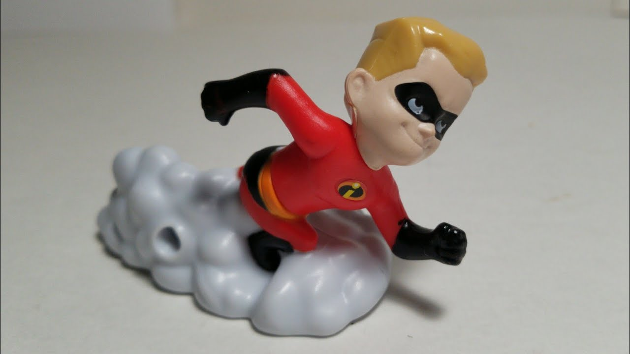 Mcdonald S The Incredibles Happy Meal Box Mr Incredible – Dibujos