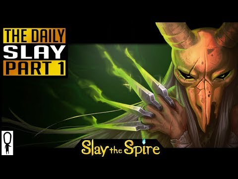 THE DAILY SLAY - Part 1 - (Brewmaster Cursed Hoarder) Let's Play Slay The Spire Gameplay