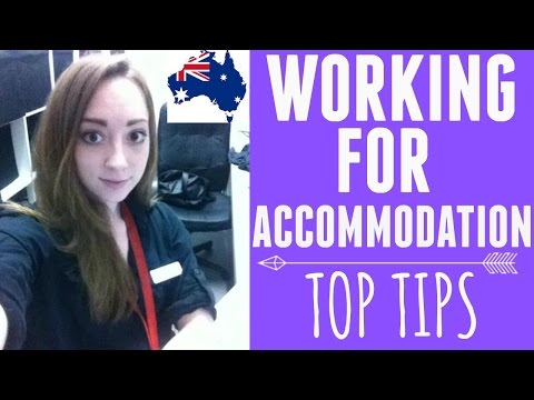WORKING FOR ACCOMMODATION | WHV AUSTRALIA
