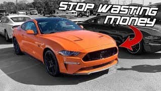 BUYING MY 2019 MUSTANG GT WAS MY BIGGEST MISTAKE.. I SHOULD HAVE LISTENED