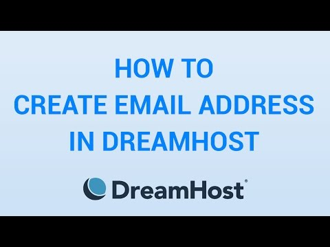 How To Create Email Address In DreamHost - EASY!!!