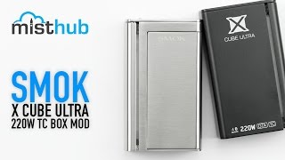 SMOKTech X Cube Ultra 220W TC BOX MOD Video