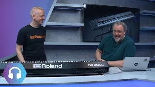 Roland RD-2000 - Flagship Stage Piano - Full Demonstration