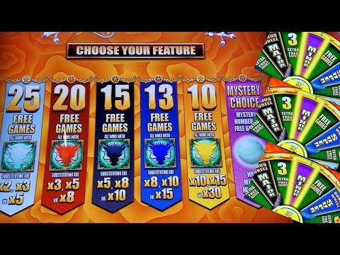 5 Dragons Grand Slot Machine Bonus Won ! NICE GAME . Live Aristocrat Slot Machine Play - 동영상