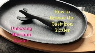 Ooni Sizzler Pan Unboxing and How To Season the Pan