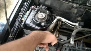видео Замена верхней опоры двигателя Лада Приора своими силами