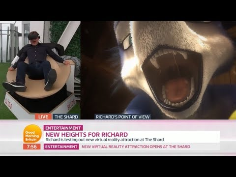 Reporter Left Terrified By Virtual Reality Simulator! Mp3