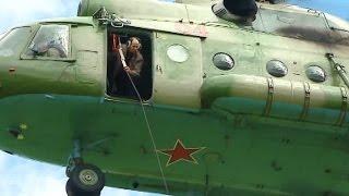 Свердловские огнеборцы проводят тренировки даже в сезон дождей