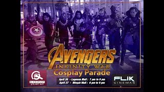 Video Marvel Infinity War Cosplay Parade - Flik Cinema - Doha Qatar download MP3, 3GP, MP4, WEBM, AVI, FLV Juli 2018