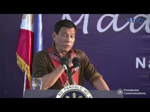 Groundbreaking and Launching of AFP/PNP New Housing Design (Speech)  5/18/2017
