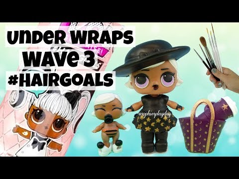 LOL Surprise Hairgoals Under Wraps Wave 3 Witchay Babay Family LOL Surprise Custom Doll Makeover
