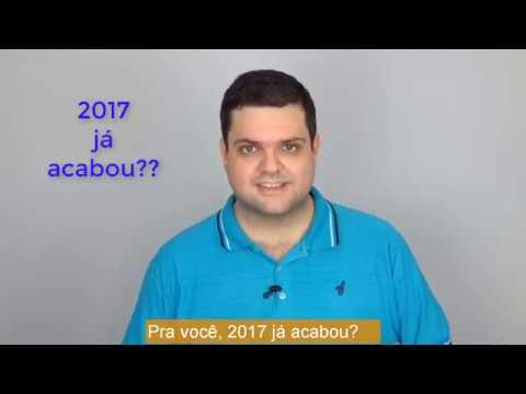 2017 já acabou?
