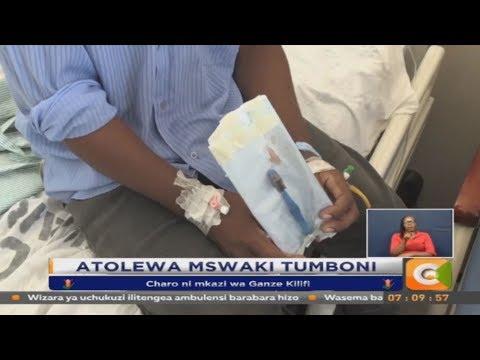 David Charo alitolewa mswaki na madaktari