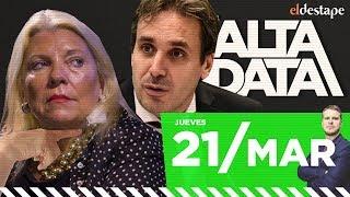 Carrió amenazó al juez Ramos Padilla | #AltaData, todo lo que pasa en un toque