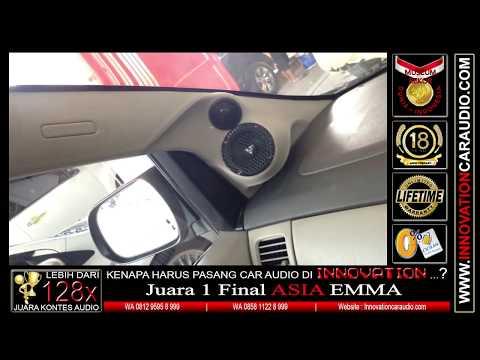 Paket audio mobil Innova | 1 hari pengerjaan | Innovation car audio Jakarta