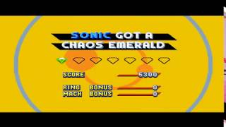 Sonic Mania Special Stage but with Advance 3's Special stage music.