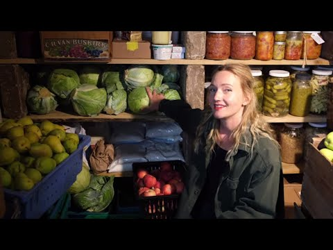 our-years-worth-of-food!- -root-cellar-tour-(full-&-complete!)- -food-storage